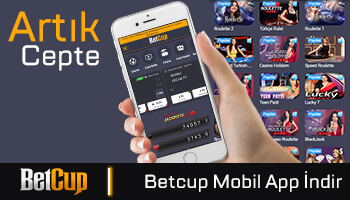 Betcup Mobil App
